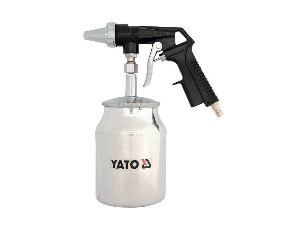 Pískovací pistole se zásobníkem 1.0L 160l/min - YT-2376