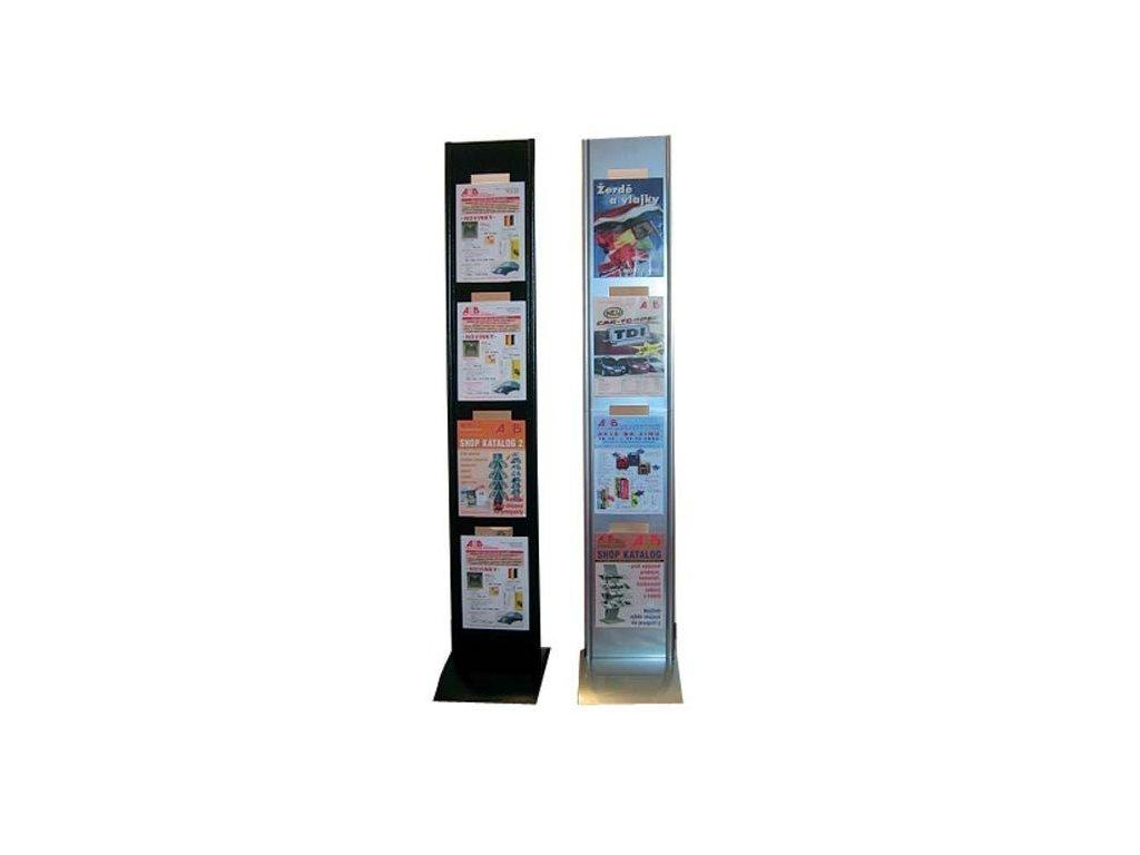 Závěsné plexi držáky A4 - 713002143