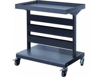 Malý kovový vozík pro uložení závěsných pořadačů - MS-HC