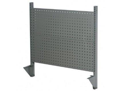 Zástěna / zadní panel pro stoly WH6M a WH5L děrovaný kov - W22