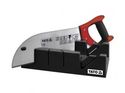 Pila na řezání úhlů 350 mm s přípravkem - YT-3150
