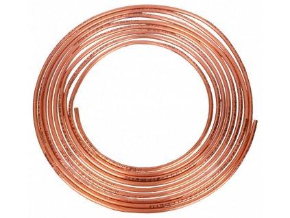 Měděná brzdová trubka, průměr 4,75 mm, délka 5 m - WP475345
