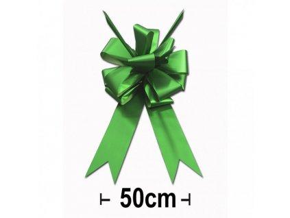 Mašle na auto 50 cm matná zelená - 625020003