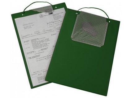 Desky na zakázky - A4 - zelené - 454040120