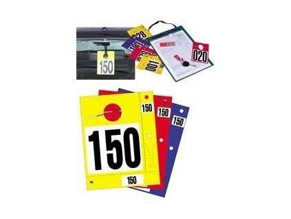 Identifikační karty - červené - 444020050