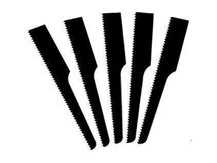 Pilové listy do přímočaré pily ocasky, 5 ks - 18 zubů - C045046
