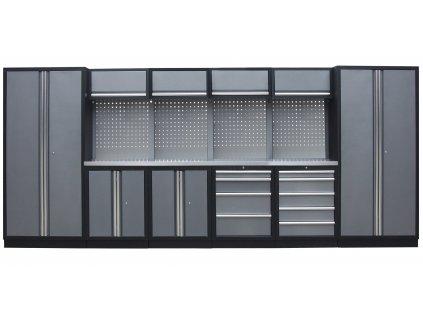 Kvalitní PROFI dílenský nábytek - 4535 x 2000 x 465 mm - TGS1300BB2