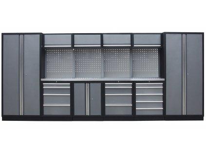 Kvalitní PROFI dílenský nábytek - 4535 x 2000 x 465 mm - TGS1300A22
