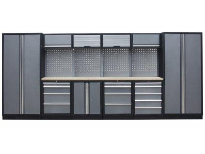 Kvalitní PROFI dílenský nábytek - 4535 x 2000 x 465 mm - TGS1300A11