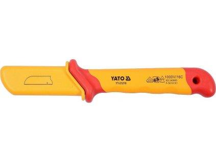 Izolovaný elektrikářský nůž, VDE, 50 x 180 mm - YT-21210