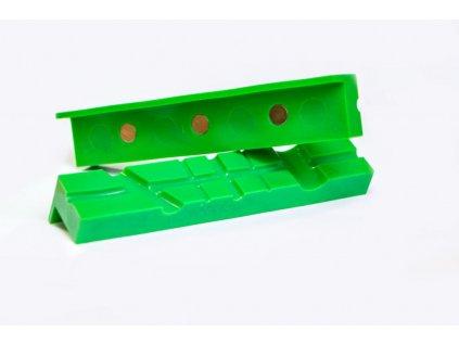 Magnetické TPU čelisti do svěráku 158x30x27 mm - QJ70516