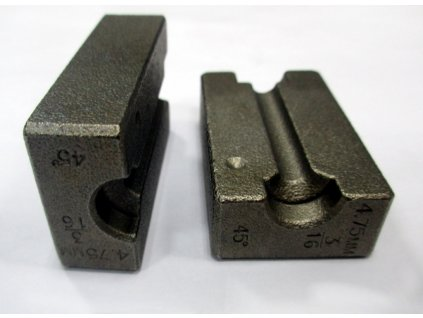 Upínací čelisti pro 4,75 mm DIN / SAE