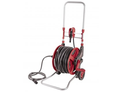 Vozík na vodní hadice se zahradní hadicí 45m - XBWE04