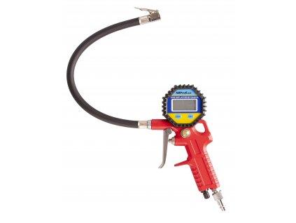 """Hustič pneu s digitálním manometrem, rychlospojka 1/4"""" - AH86002"""
