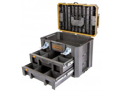 Vodotěsný kufr na nářadí 530 x 360 x 400 mm - TC320362