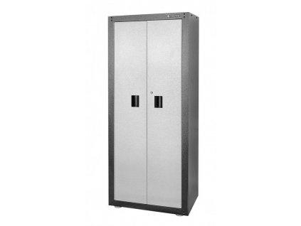 Dílenská skříň s dvoukřídlými dveřmi 860 x 405 x 1690 mm - TC326250
