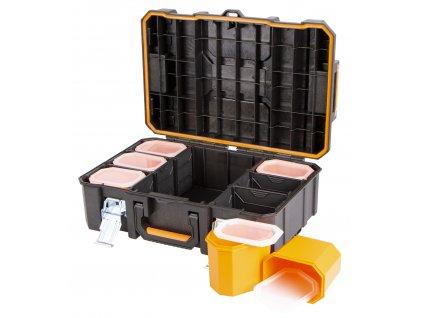 Vodotěsný plastový kufr 528 x 371 x 179 - TC320360