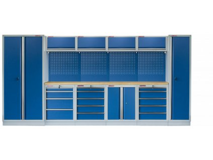 Kvalitní PROFI BLUE dílenský nábytek 4235 x 465 x 2000 mm - MTGS1300AD Blue