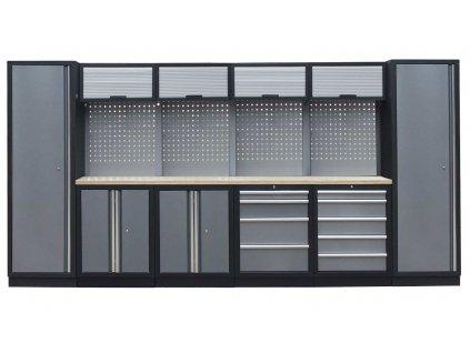 Kvalitní PROFI dílenský nábytek 3920 x 465 x 2000 mm - TGS1300AA9 Grey