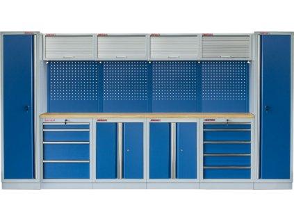 Kvalitní PROFI BLUE dílenský nábytek 3920 x 465 x 2000 mm - MTGS1300AA9 Blue