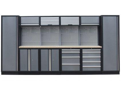 Kvalitní PROFI dílenský nábytek 3920 x 465 x 2000 mm - TGS1300AA8 Grey