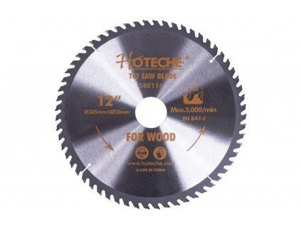 Pilový kotouč na dřevo 305 mm, 60 zubů - HT580116