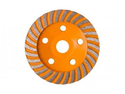 Diamantový brusný kotouč 125 mm, pohárový - HT570503