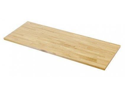Dřevěná pracovní deska 1361x463x38 mm do sestavy dílenského nábytku PROFI - TGW53