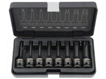 """Sada vnějších nástrčných klíčů TORX 1/2"""" sada 8 ks - LIASA40007"""