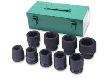 """Sada nástrčných hlavic 1"""", úderových, 24-50 mm, 9 kusů - JONNESWAY S03A8309S"""