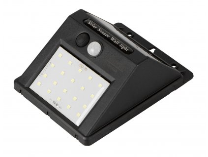 Solární nástěnné světlo, LED, 3 W - HT440402