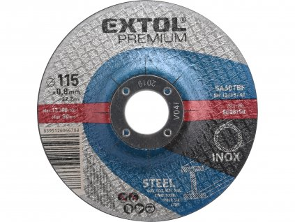 Kotouč řezný na ocel/nerez, O 115x0,8x22,2mm