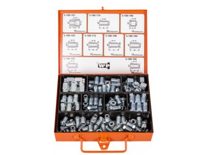 Sada šroubů a matic pro brzdové potrubí - WP10002