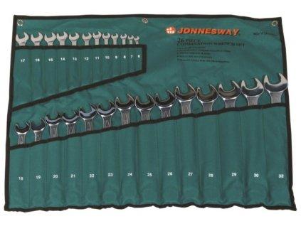 Sada očkoplochých klíčů, 26 ks, 6-32 mm - JONNESWAY W26126SA