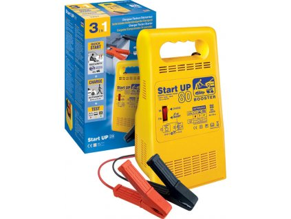 Startovací, nabíjecí zdroj a zkoušečka baterií GYS Start UP80