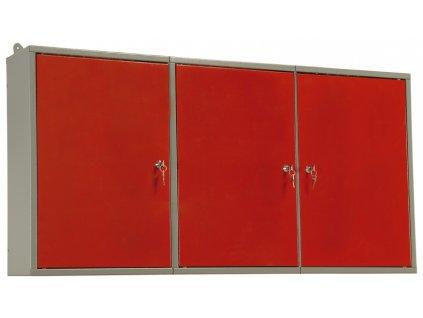 Závěsná skříň třídílná–120x60x19cm - MARS 5810
