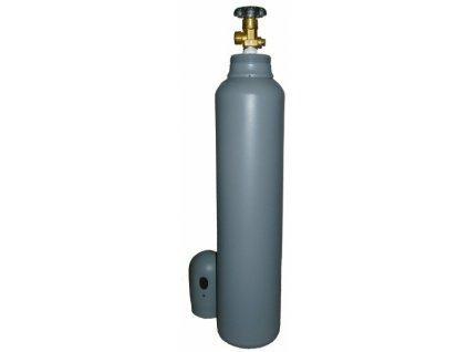 Plynová tlaková láhev CO2, 8 litrů, 200 Bar, plná, náplň 5 kg, závit W21,8, s víčkem