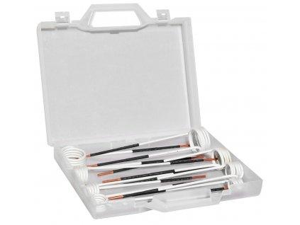 Sada přímých nasazovacích cívek pro indukční ohřev DAWELL DHI-15, 15 - 45 mm, 8 kusů