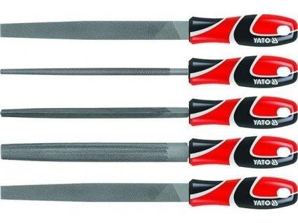 Sada pilníků zámečnických 250 mm 5 ks - YT-6239