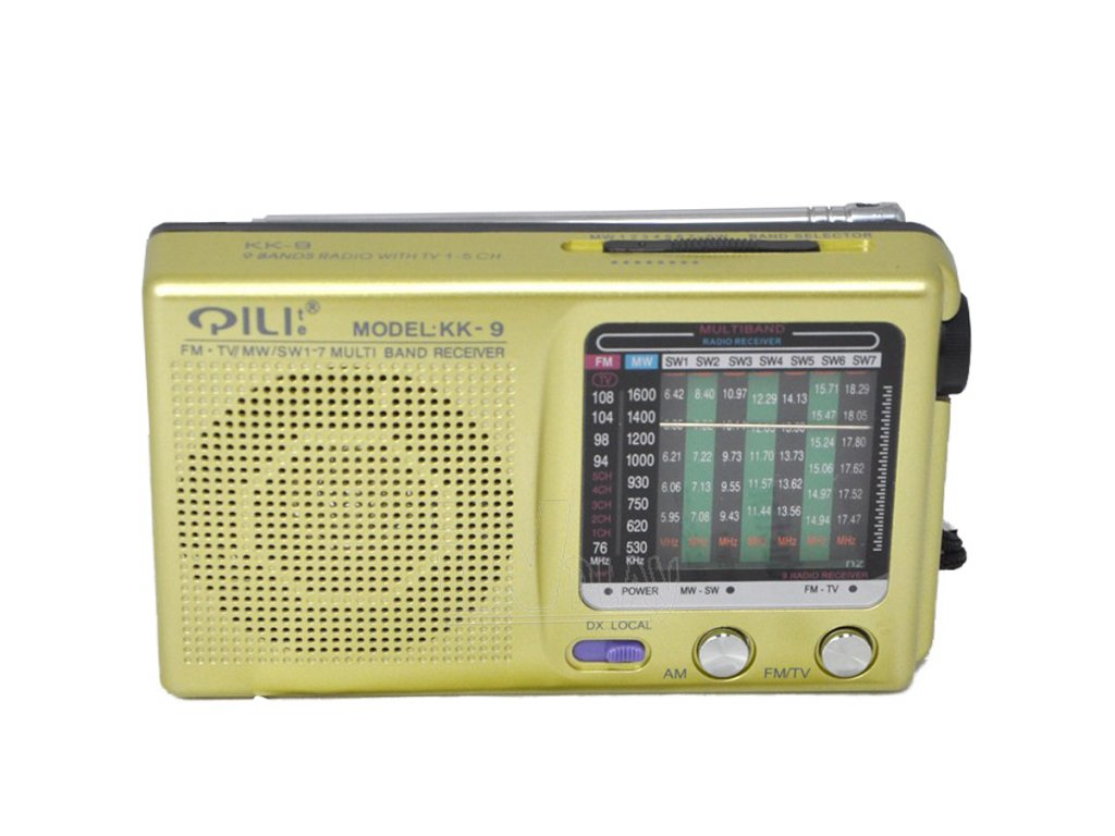 Mini digitální rádio KK-9 FM AM