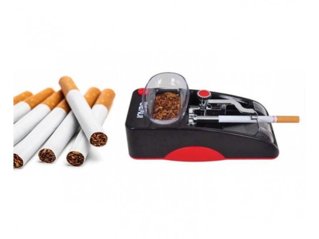 Elektrická balička cigaret pro snadné plnění