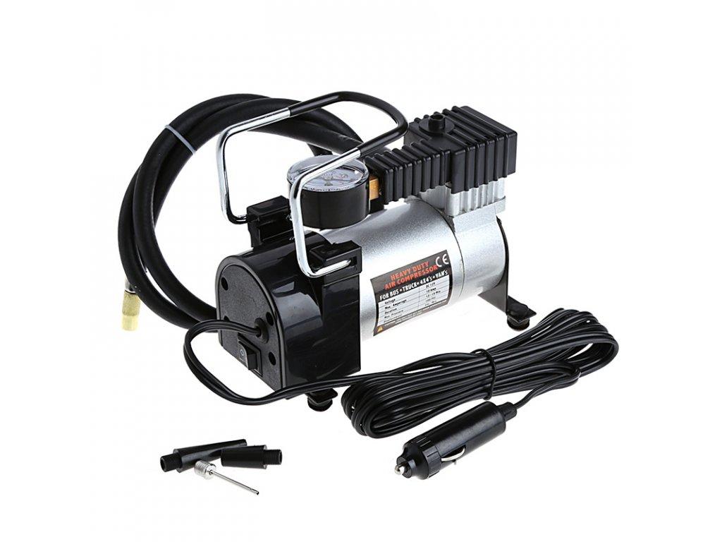 Kompresor do auta s nástavci pro huštění 12V / 965 kPa