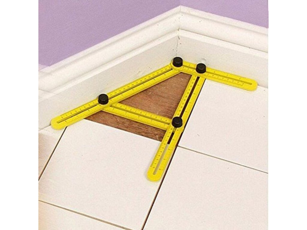 4 Professional Template Tool Angle Measuring Protractor Multi Angle Ruler Builders Craftsmen Engineers Layout