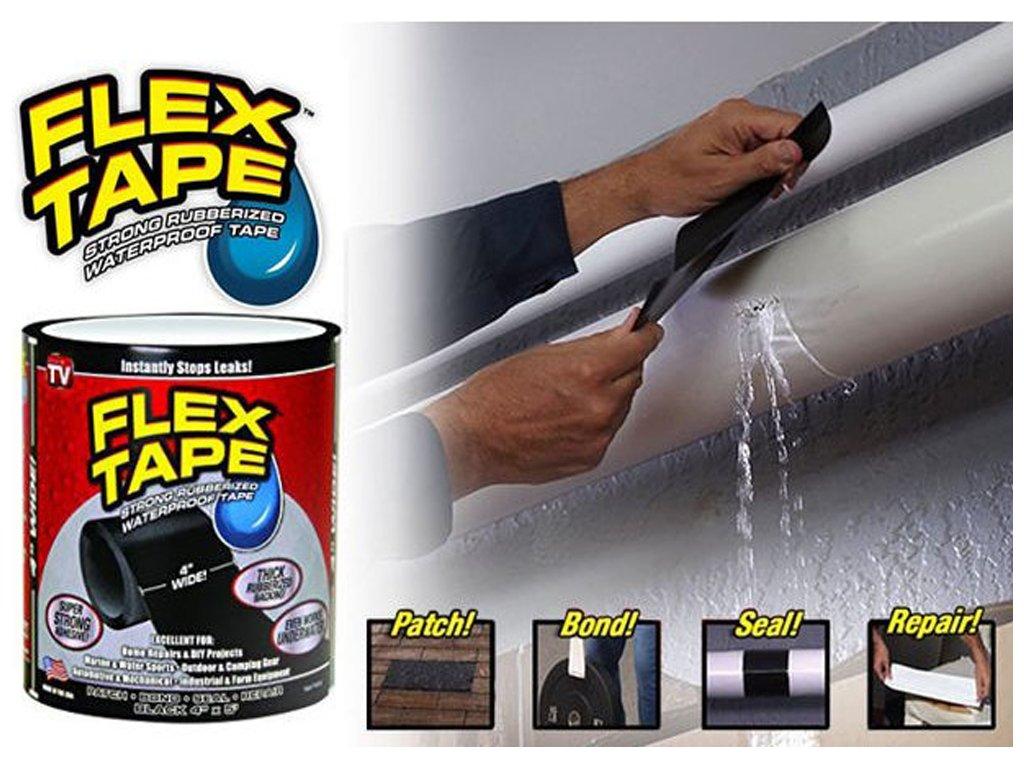 Vodotěsná lepící páska Flex Tape