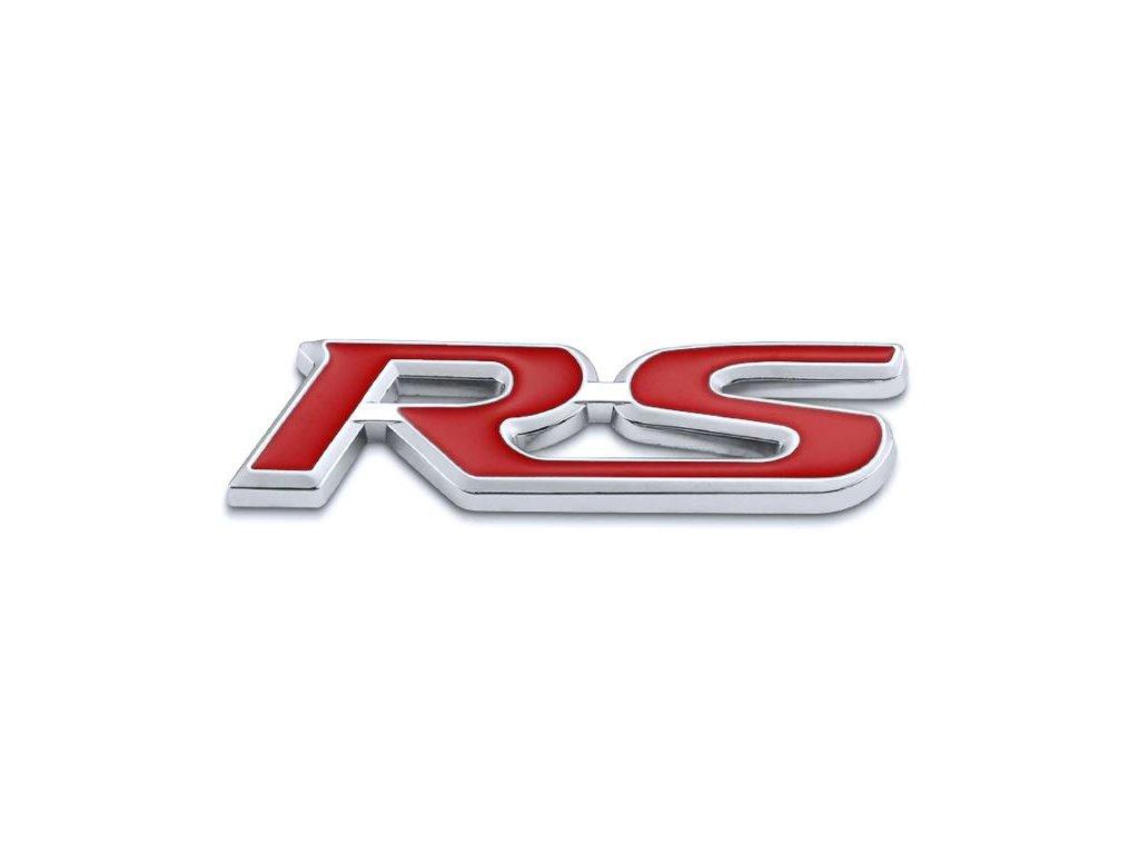 3D samolepka na auto RS