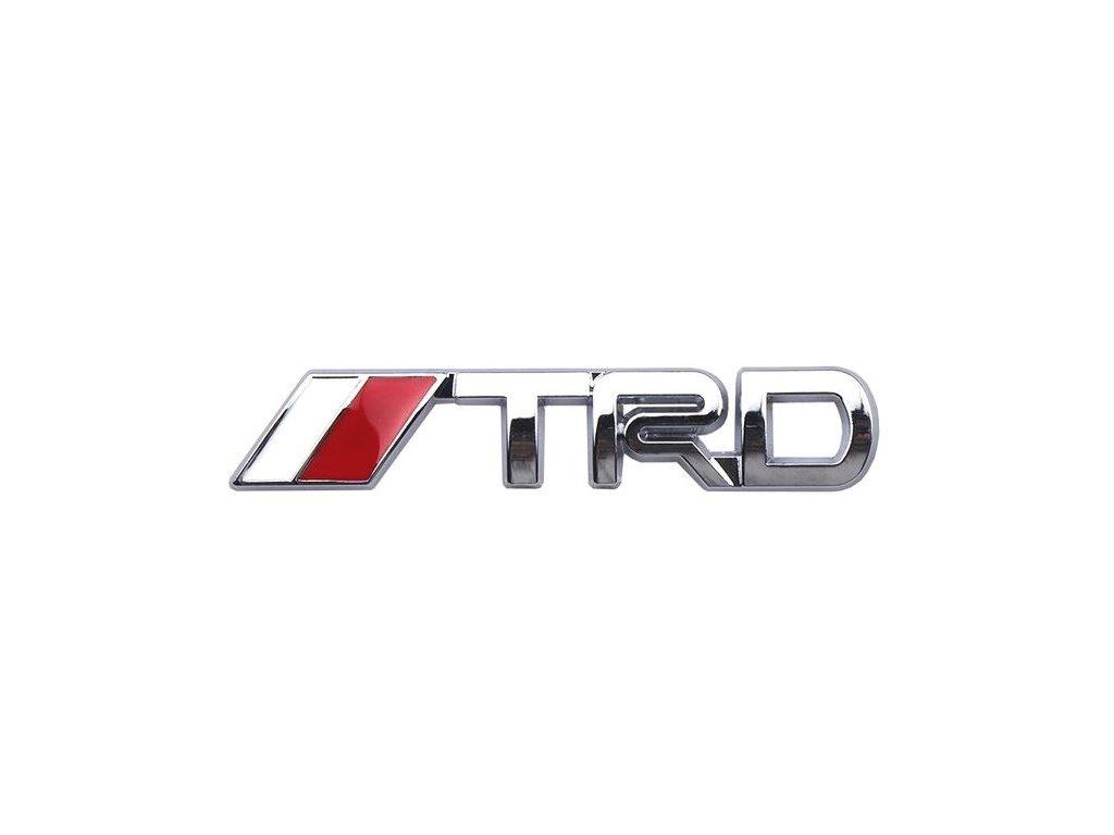 3D samolepka na auto TRD
