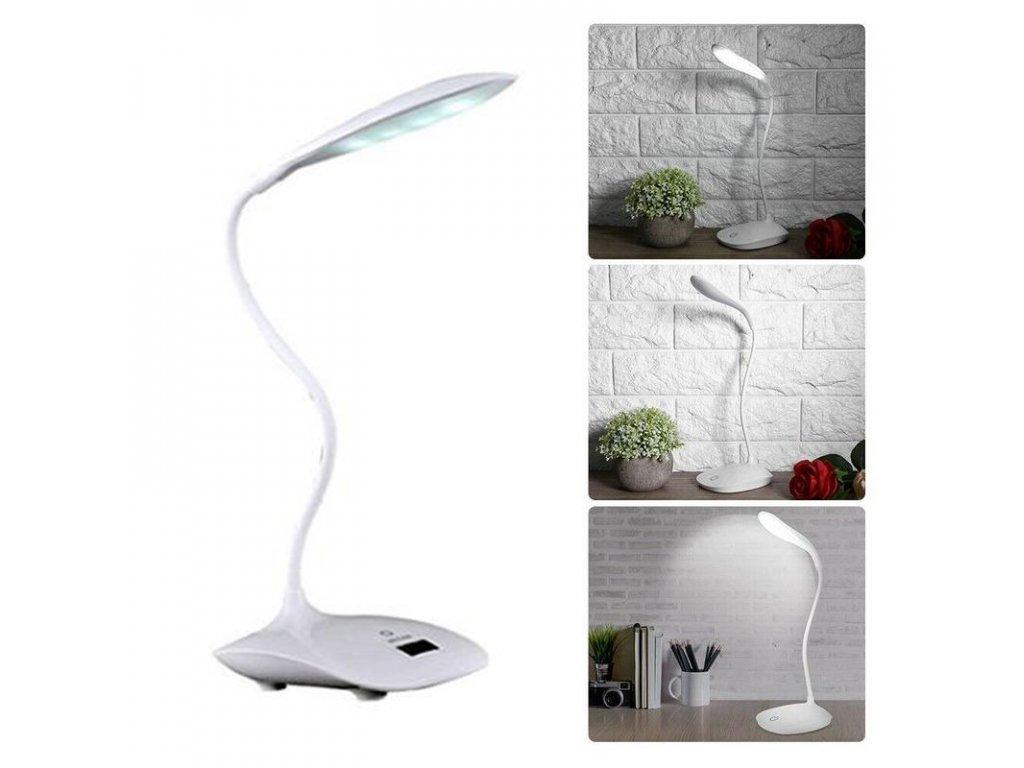 Bezdrátová stolní LED lampa s dotykovým ovládáním