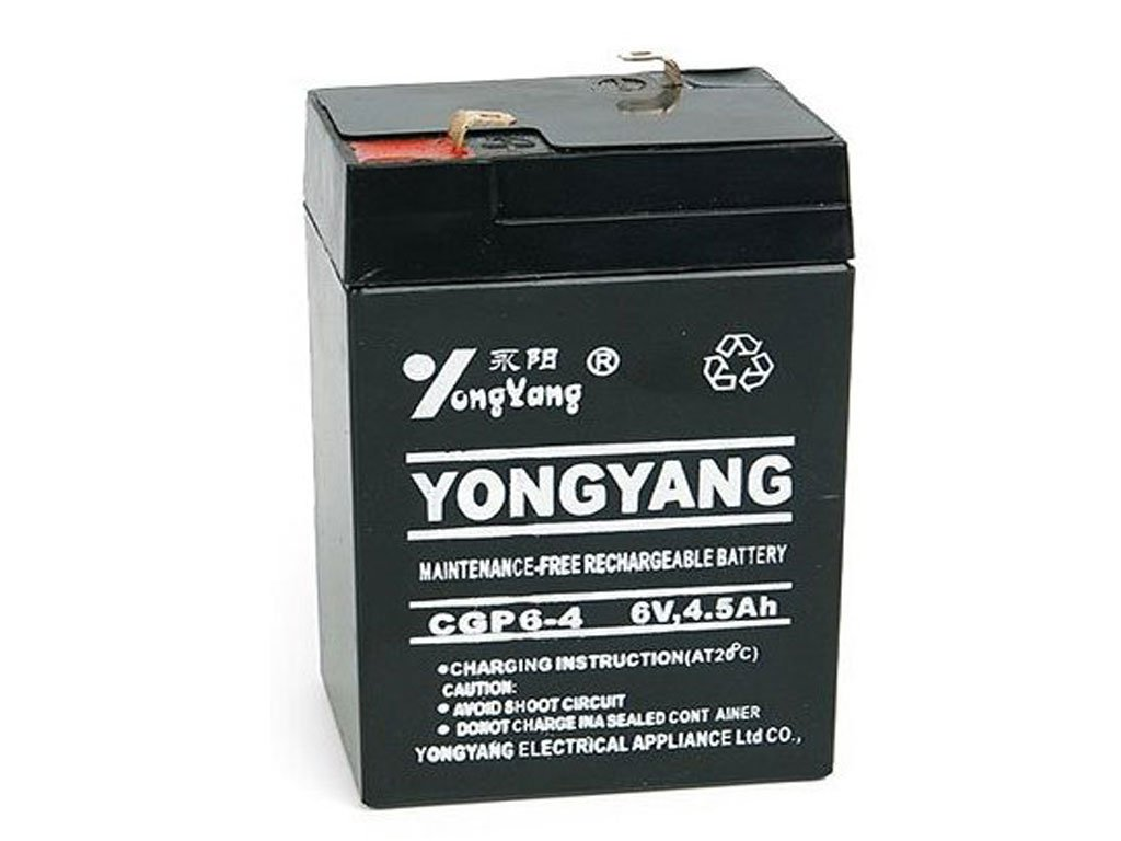 106625 eng pl maintenance free gel battery 6v 4 5ah checkout weight 212 2 3