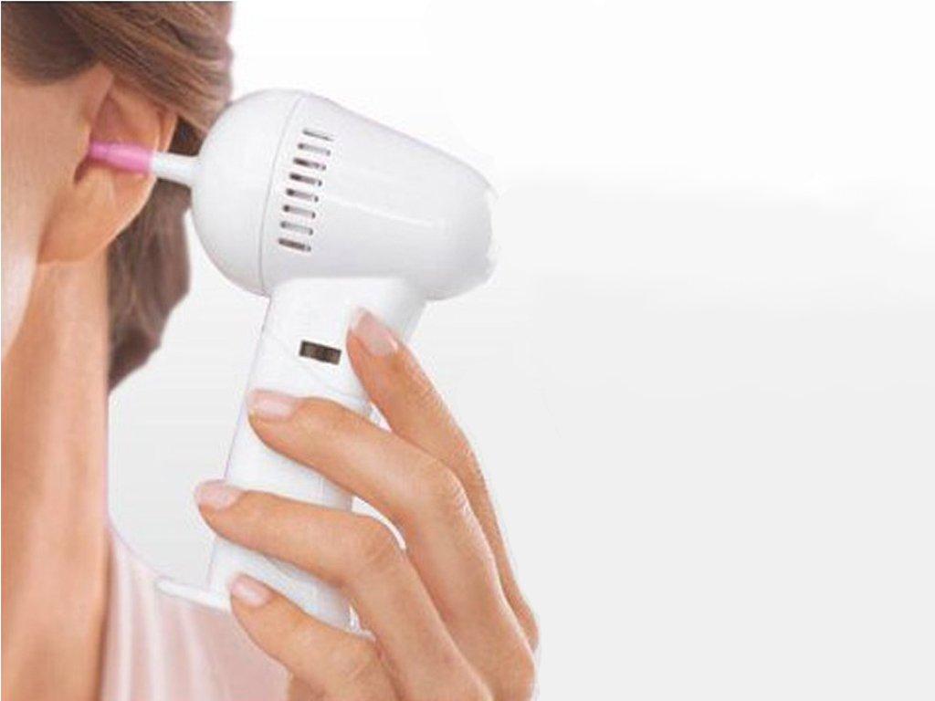 Elektrický přístroj na čištění uší