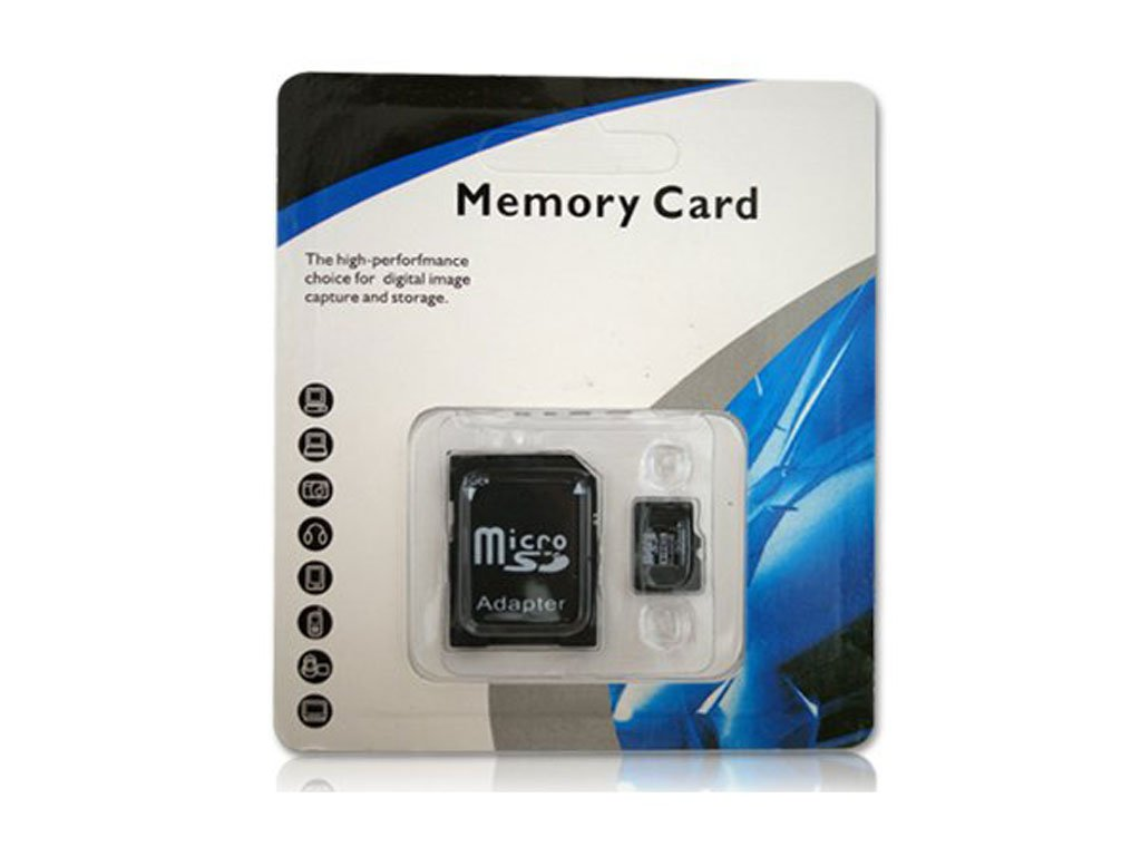 Paměťová Micro SD karta + adaptér